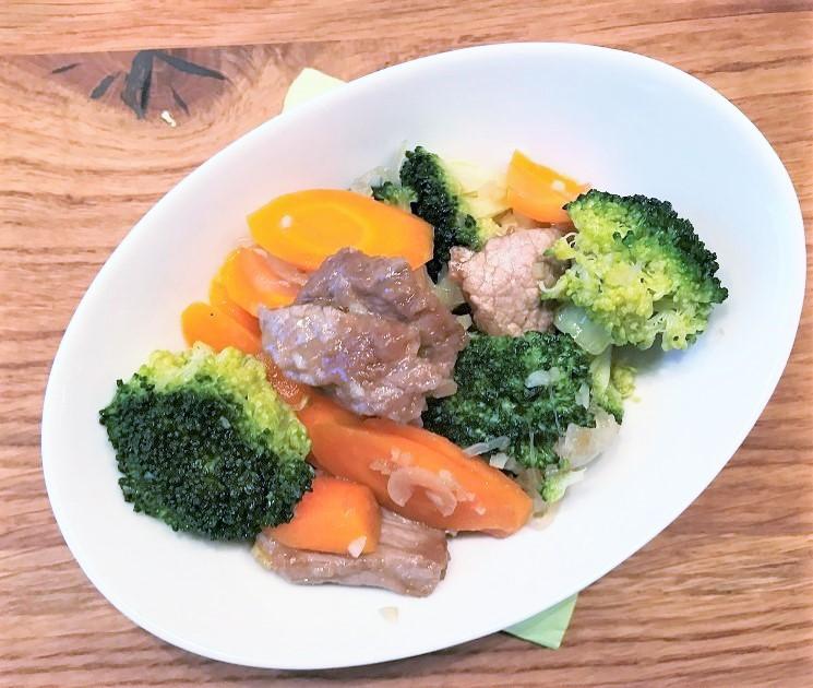 Broccoli mit Rindfleisch
