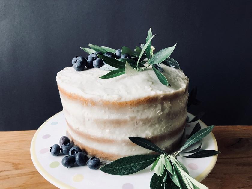 Heidelbeer-Limetten-Torte