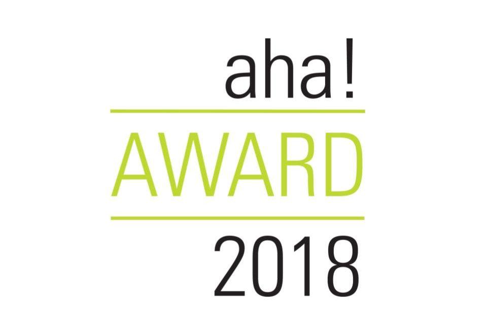 aha!award 2018